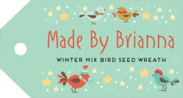 Merry Birdies luggage tags