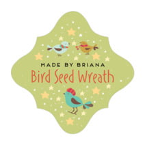 Merry Birdies fancy diamond labels