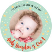 Starry Sky baby coasters