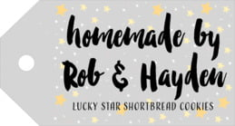 Starry Sky luggage tags