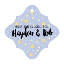 Starry Sky fancy diamond hang tags