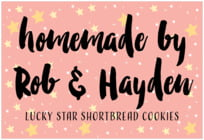 Starry Sky wide rectangle labels