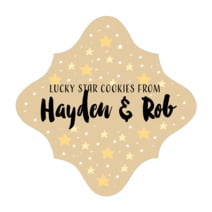Starry Sky fancy diamond labels