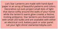 Starry Sky rectangle text labels