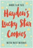 Starry Sky food/craft labels