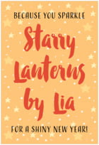 Starry Sky tall rectangle labels