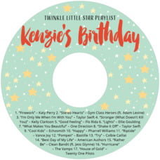Starry Sky cd labels