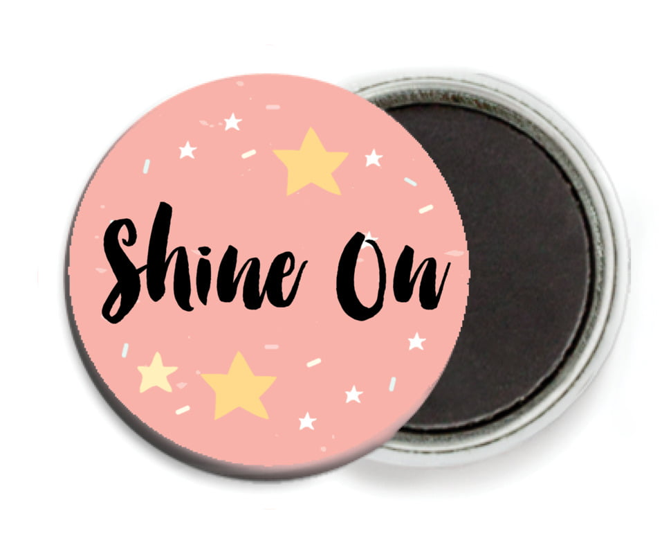 custom button magnets - grapefruit - starry sky (set of 6)
