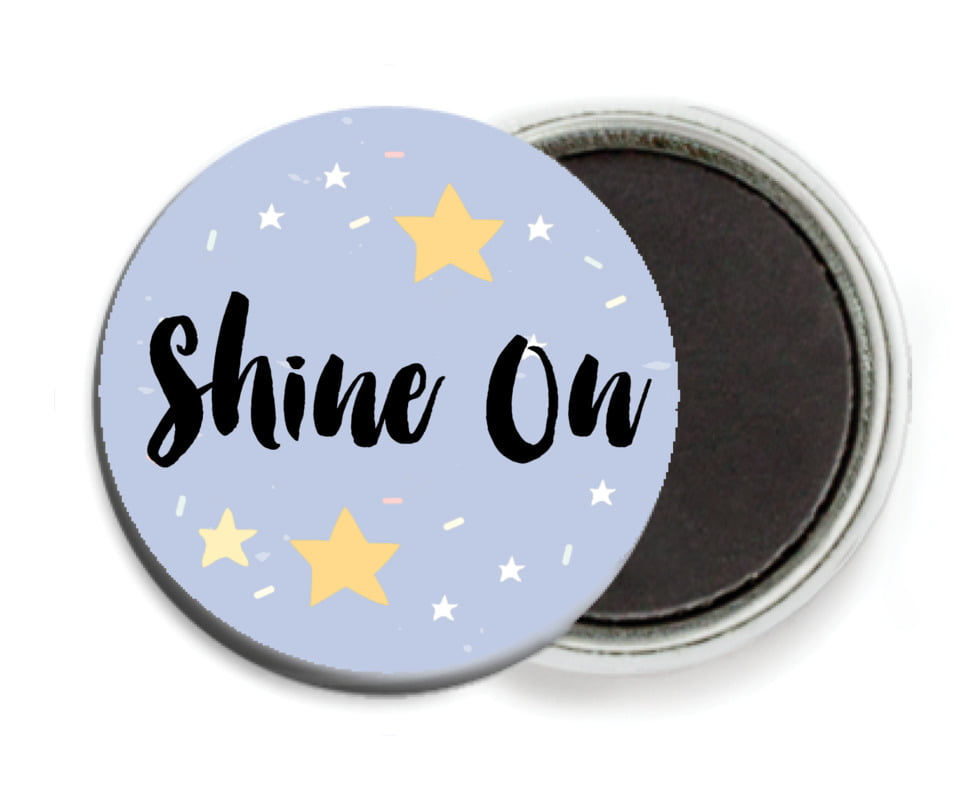 custom button magnets - serenity - starry sky (set of 6)