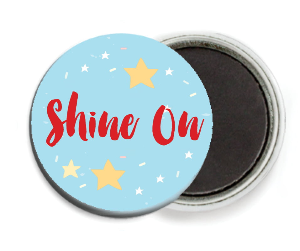 custom button magnets - sky - starry sky (set of 6)