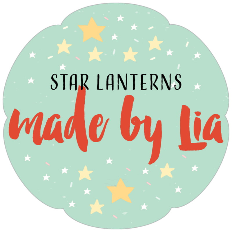 petal food/craft labels - sea glass - starry sky (set of 30)