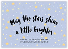 Starry Sky photo cards - horizontal