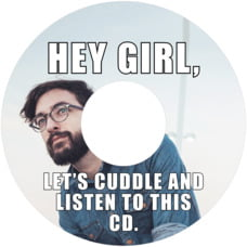 Meme custom CD/DVD labels