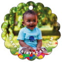 Caption baby birthday tags