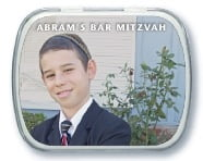 Caption bar mitzvah mint tins
