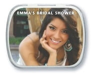 Caption bridal shower mint tins