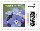 Caption business postage stamps