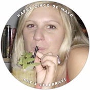 Caption cinco de mayo coasters