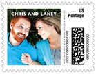 Caption wedding postage stamps