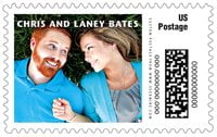Caption large postage stamps
