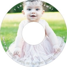 Caption mother's day CD/DVD labels