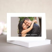 Caption note cards & envelopes