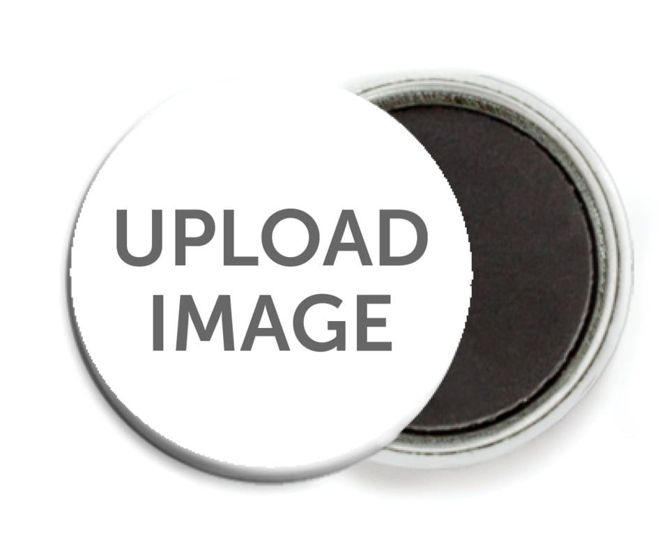 custom button magnets - custom - diy (set of 6)