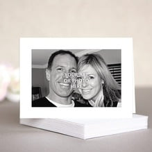 Custom wedding note cards