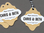 anniversary tags