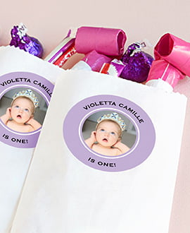 Baby Birthday Ideas Personalized 1st Party Favors