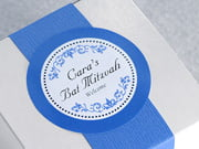 bar mitzvah labels