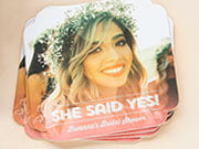 bridal shower coasters