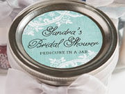bridal shower labels