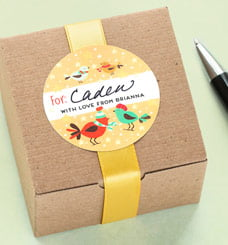 writeable gift labels