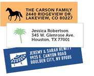 icon address labels