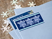 hanukkah address labels