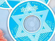 hanukkah cd labels