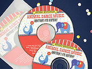 kid/teen birthday CD/DVD labels