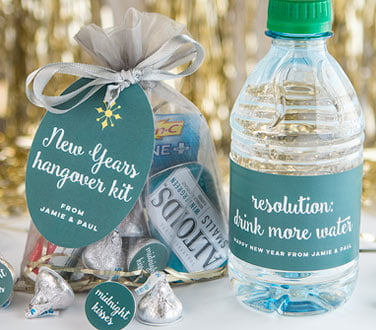 custom tags bottle water labels