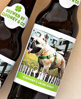pet beer labels