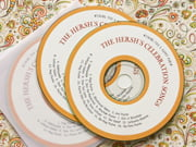 purim cd/dvd labels