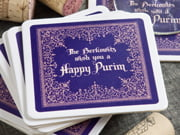 purim coasters