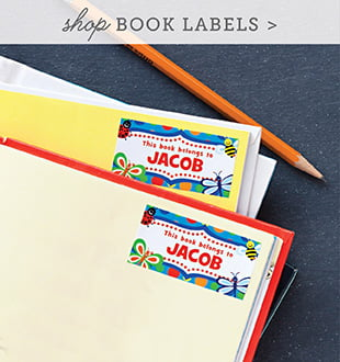 kid book labels