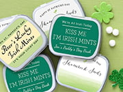 st. patrick's day mint tins