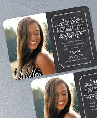 shop sweet sixteen invitations