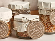 food and craft favor tags