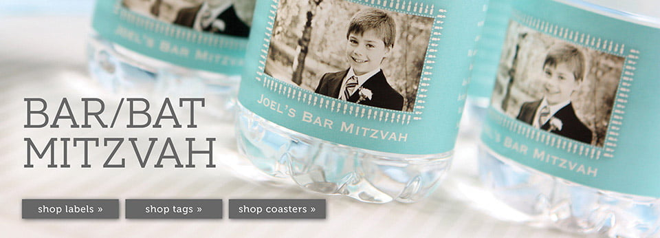 Custom Bar & Bat Mitzvah Party Ideas