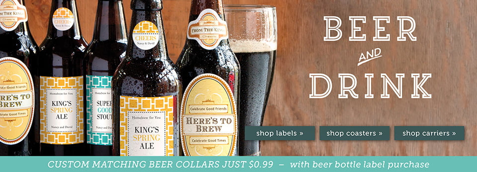Custom Beer Products & Personalized Beer Gift Ideas