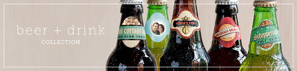 Custom Photo Beer Labels