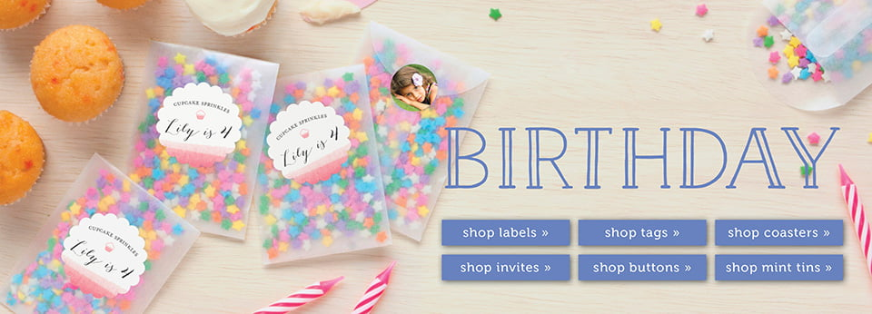 Custom Birthday Party Favor Ideas